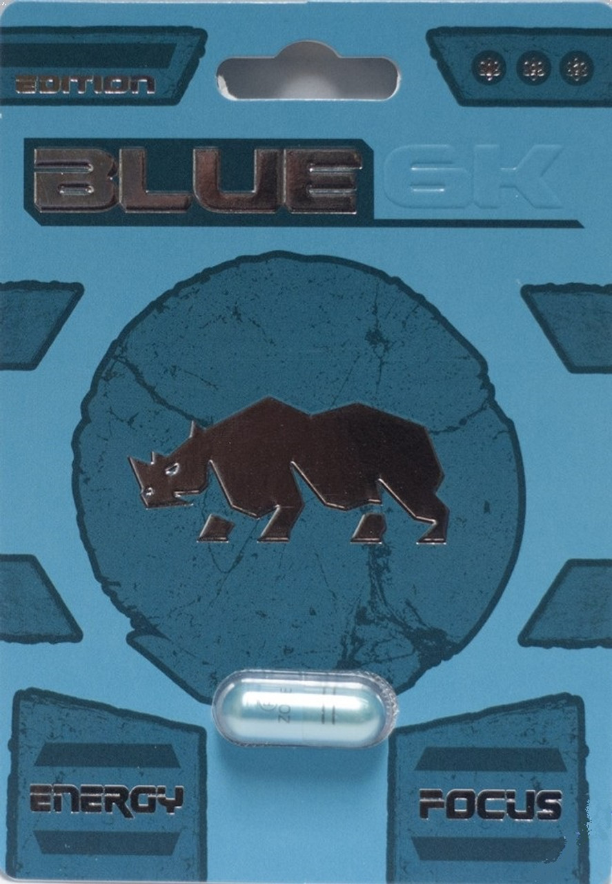 Blue 6K Male Enhancement 1ct