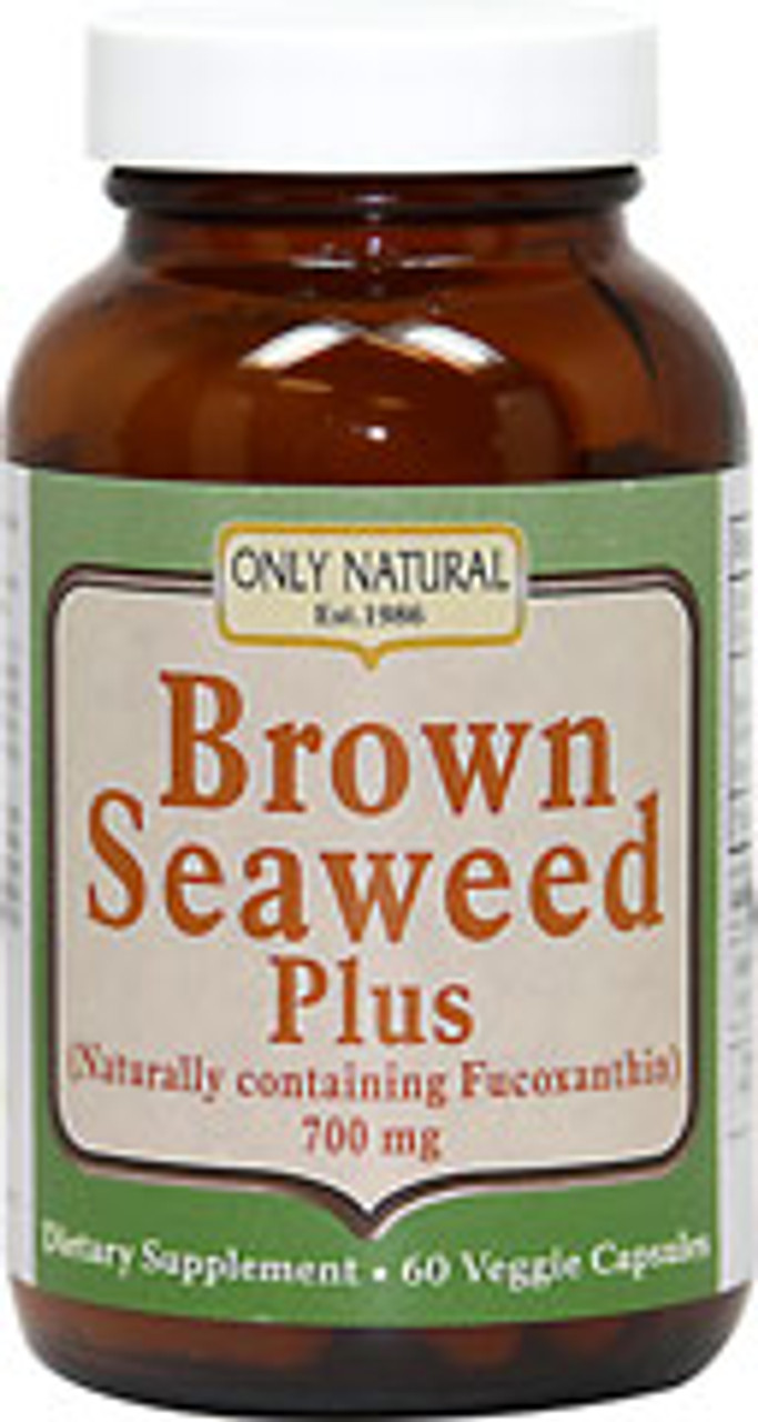 Brown Seaweed by Only Natural 60ct