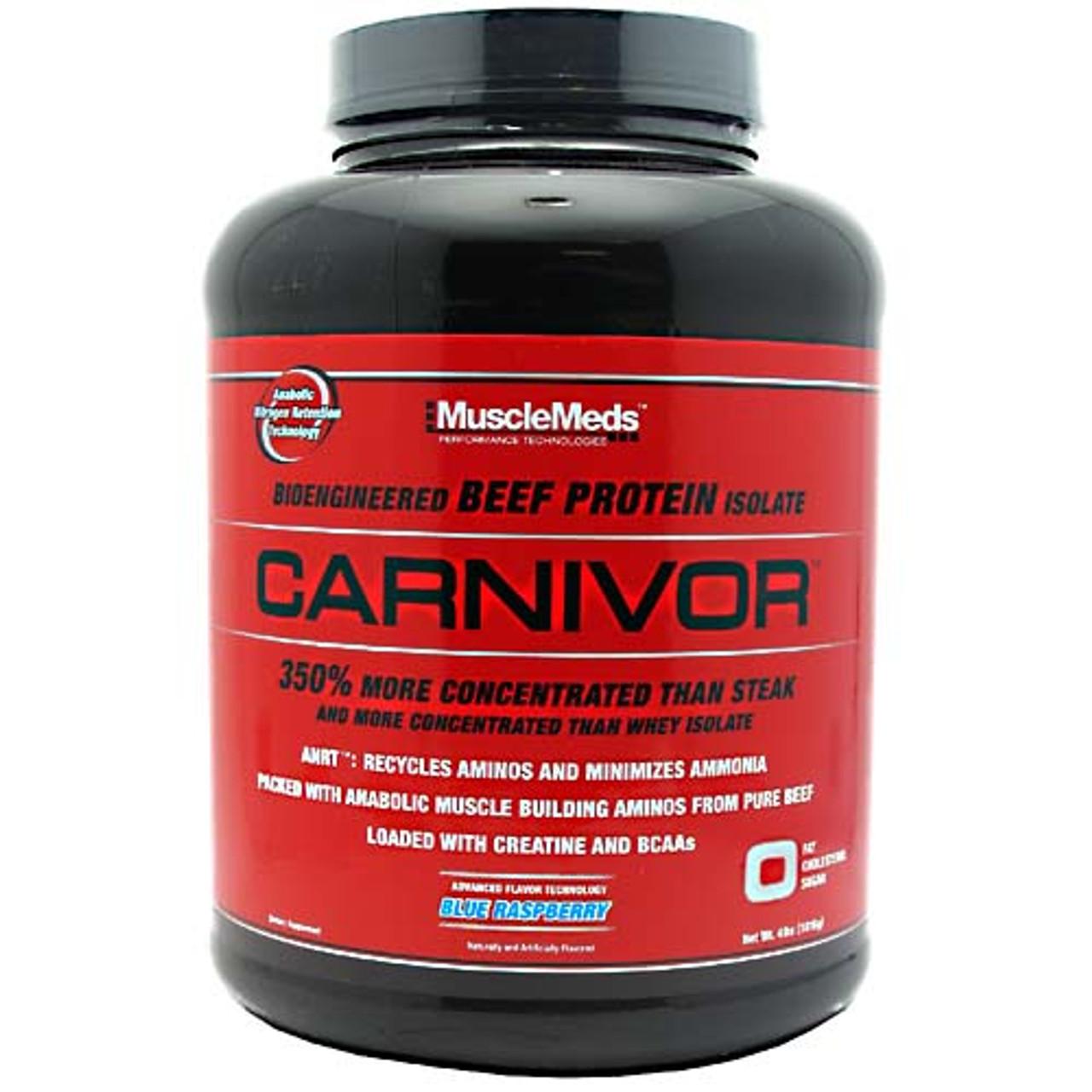 Carnivor by MuscleMeds 4lb