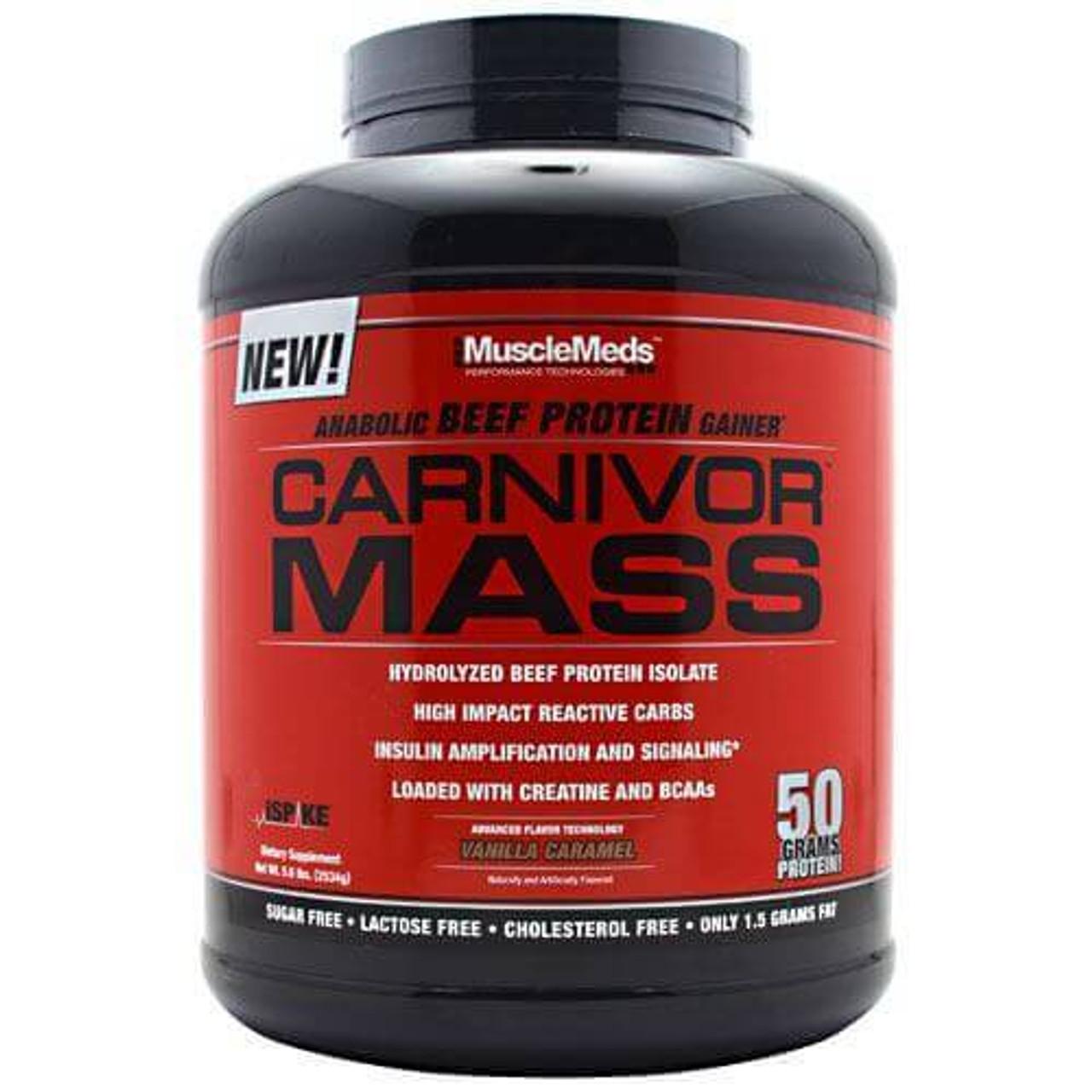 Carnivor Mass 5.7lb Muscle Meds