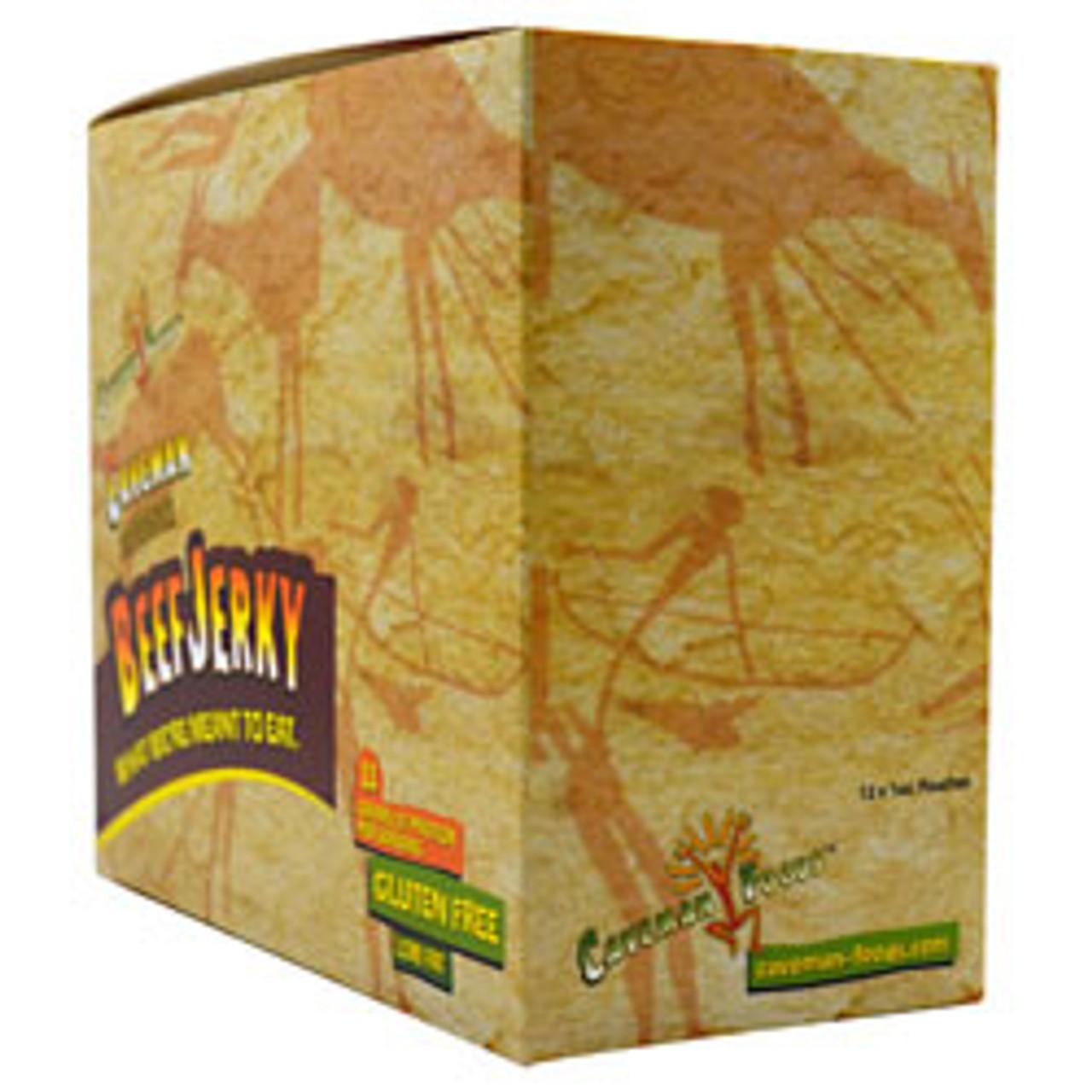 Caveman Beef Jerky 12pk Caveman Foods