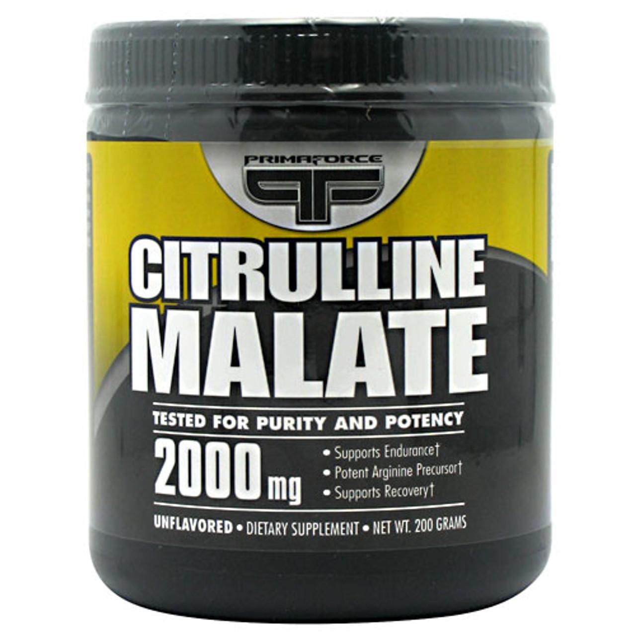 Citrulline Malate 200g Primaforce