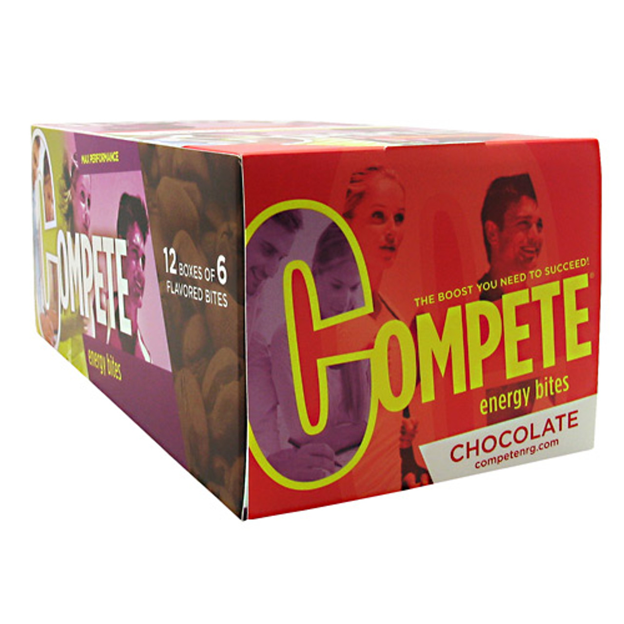 Clearance Compete Energy Bites 12ct