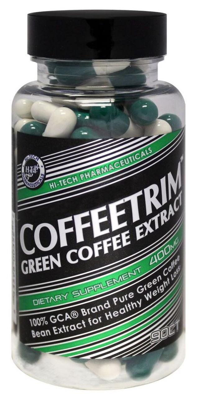 CoffeeTrim Green Coffee Extract 90ct Hi-Tech