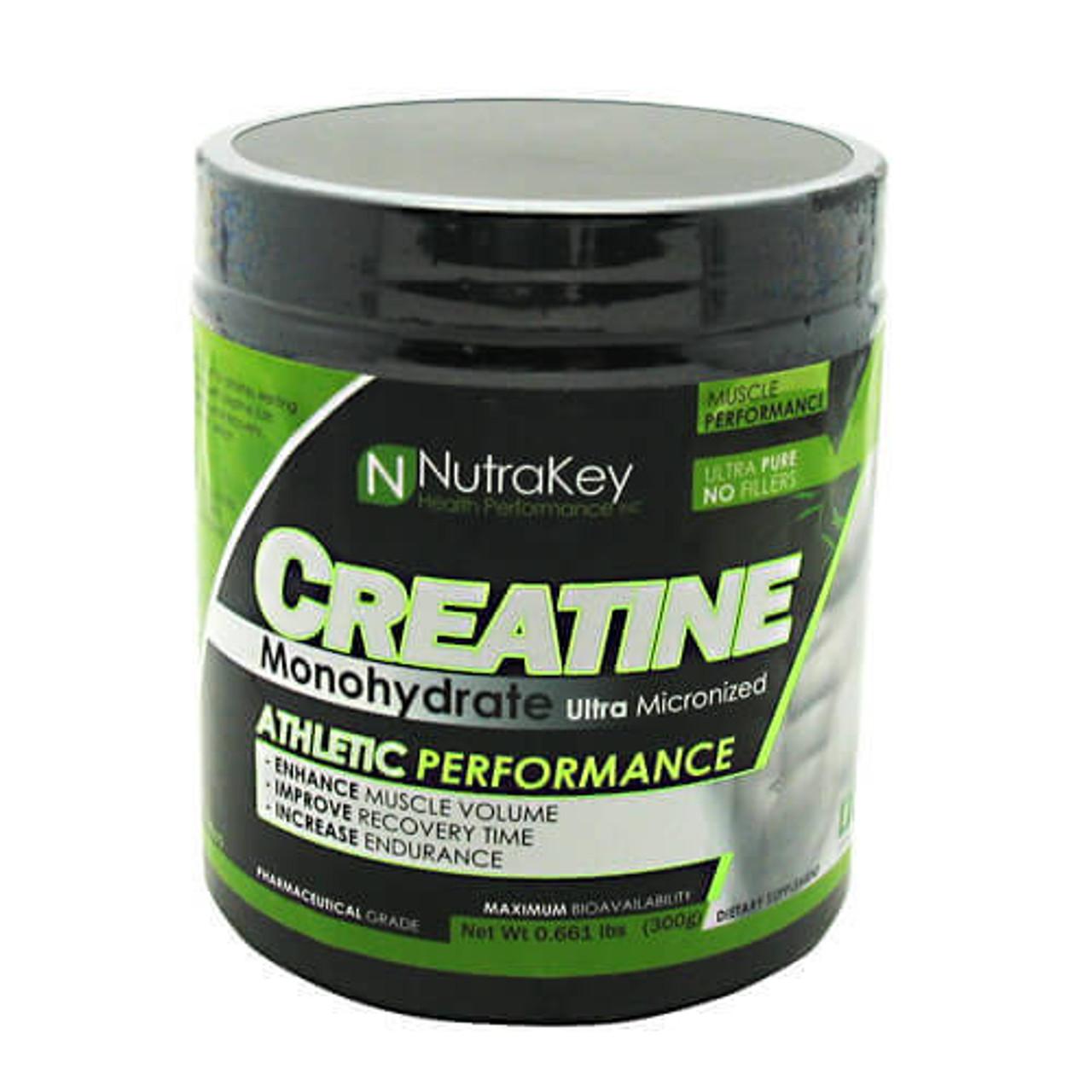 Creatine Monohydrate by NutraKey 300g