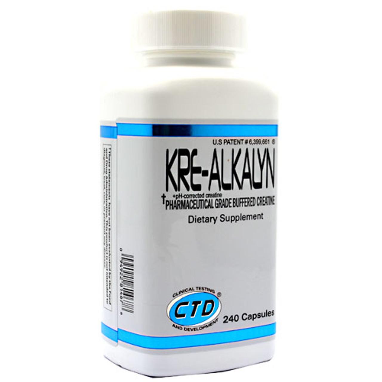 Kre-Alkalyn Creatine 240ct CTD Labs