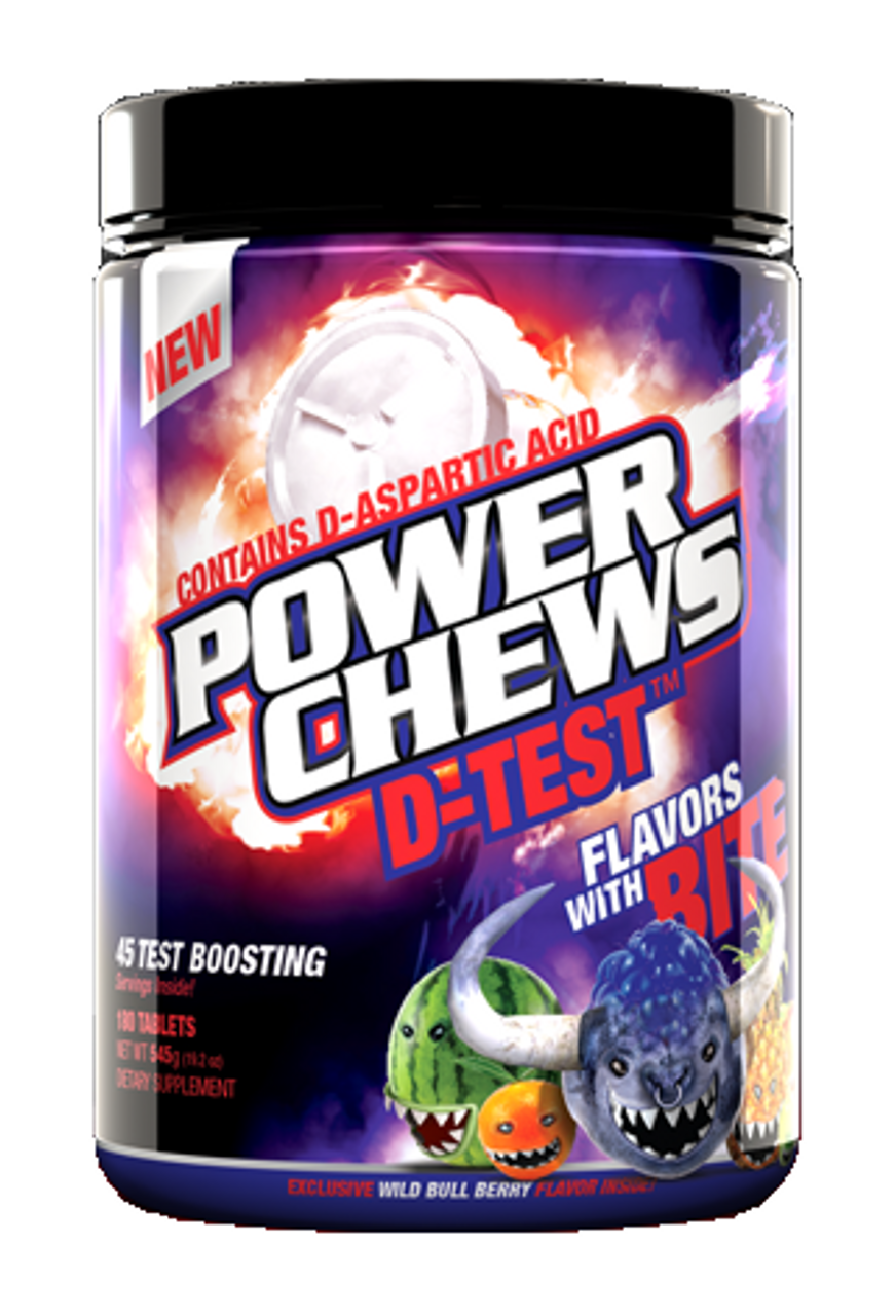 D-Test by Power Chews 180ct