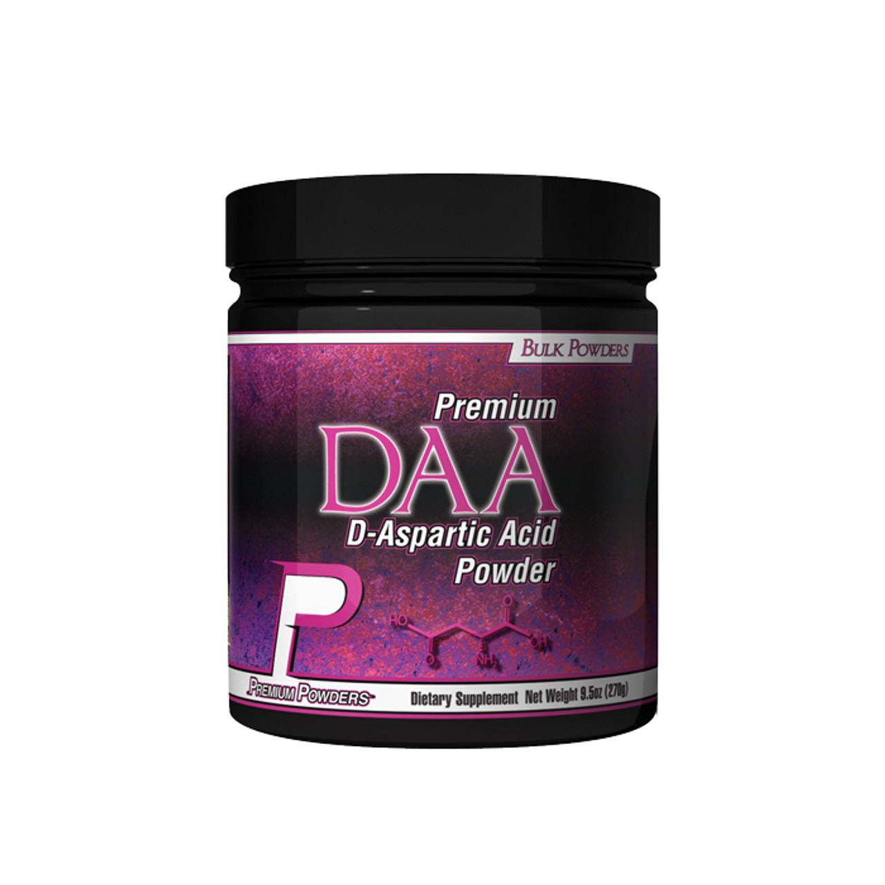 DAA (D-Aspartic Acid) by Premium Powders 270g