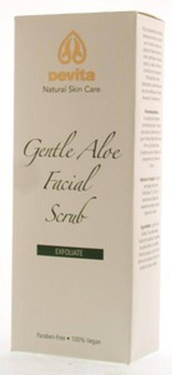 Gentle Aloe Vera Facial Scrub 6oz Devita