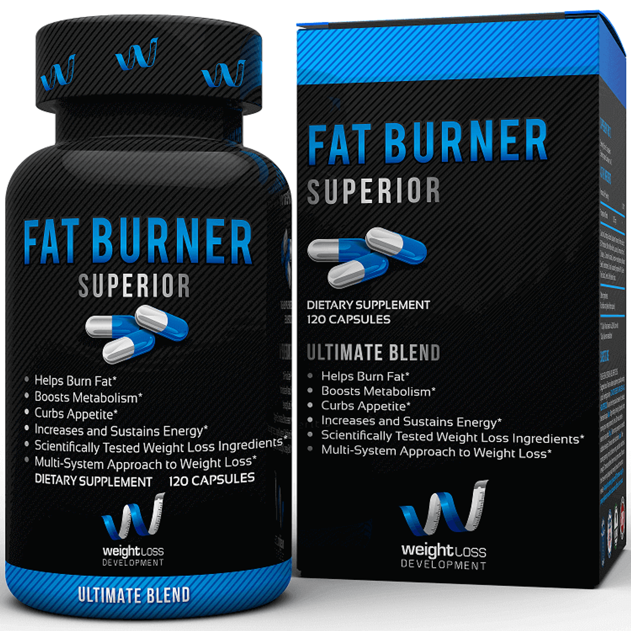 CLEARANCE Fat Burner Superior by Weight Loss Development 120ct