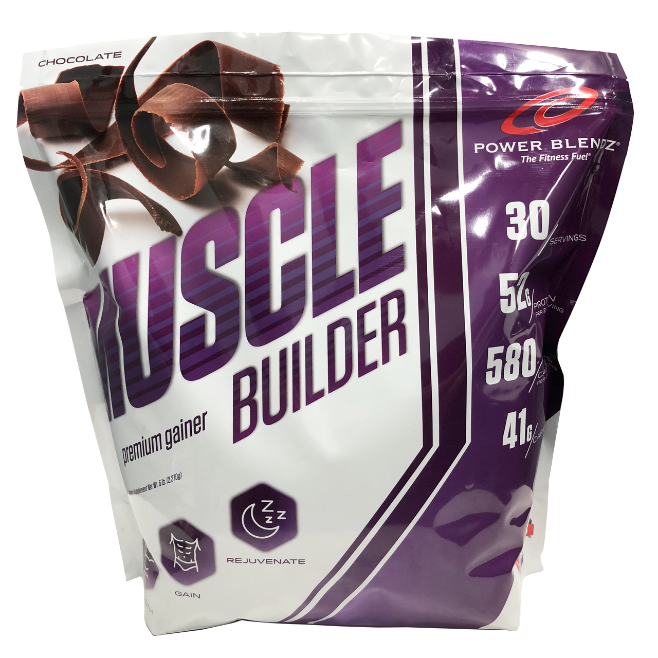Muscle Builder 5lb Power Blendz - The Fitness Fuel