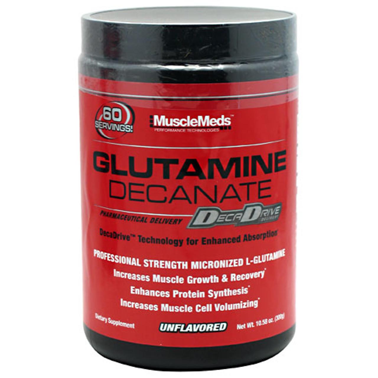 Glutamine Decanate 10oz Muscle Meds
