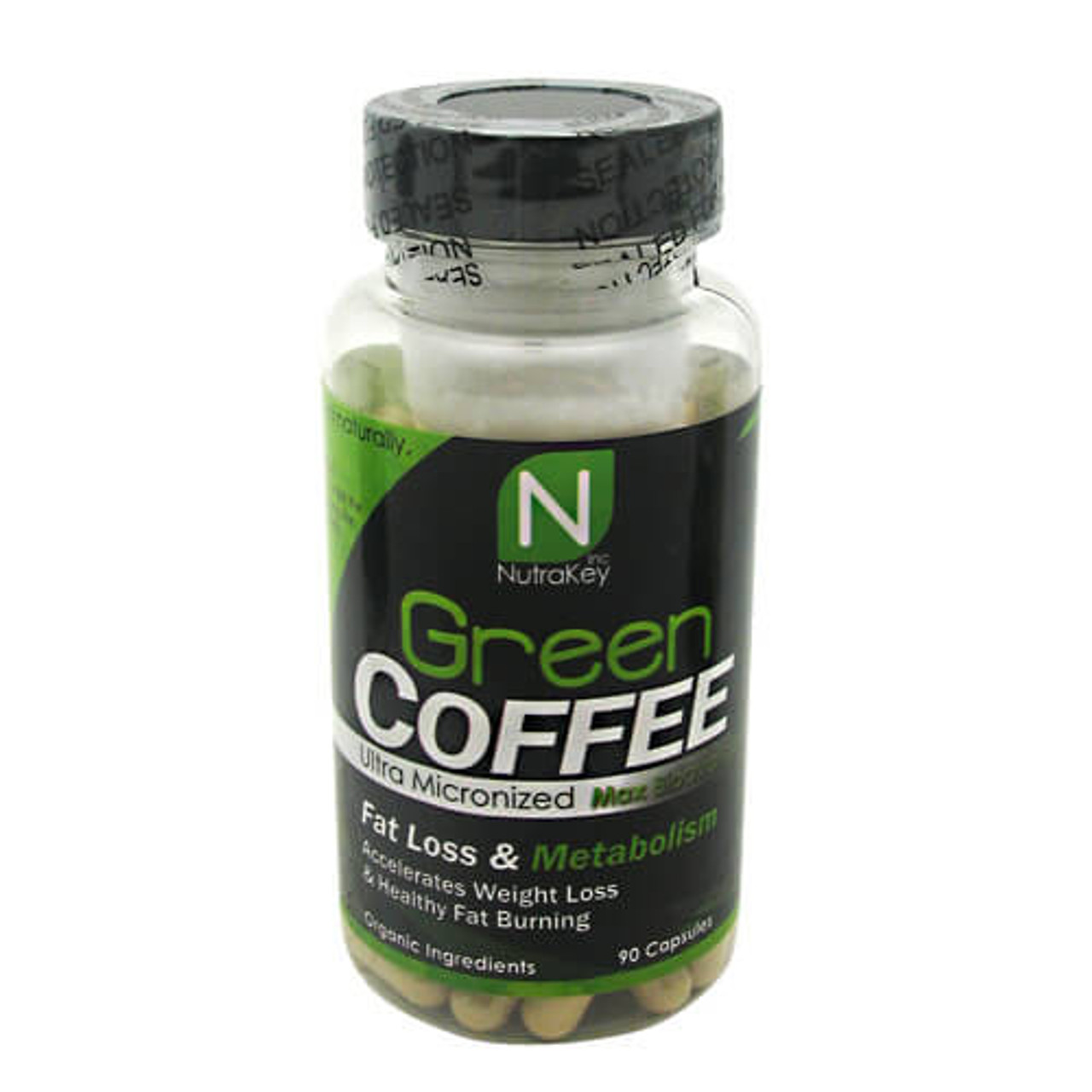 Green Coffee 90ct Nutrakey