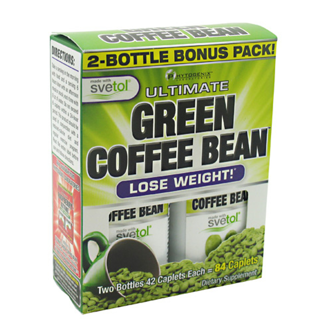 Ultimate Green Coffee Bean 84ct Nx Labs