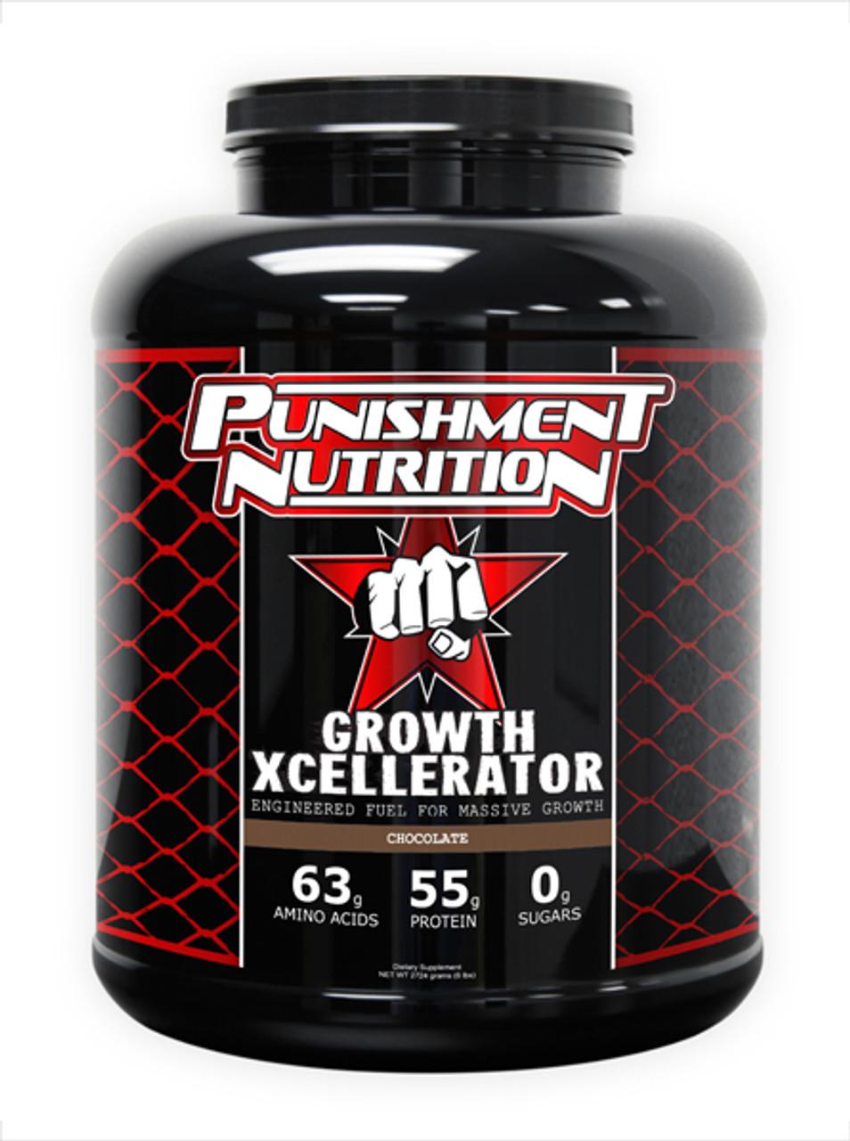 Growth Xcellerator 6lb Punishment Nutrition