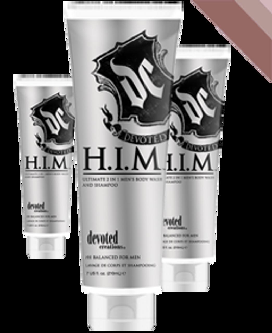 H.I.M. Shampoo & Bodywash 7oz Devoted Creations