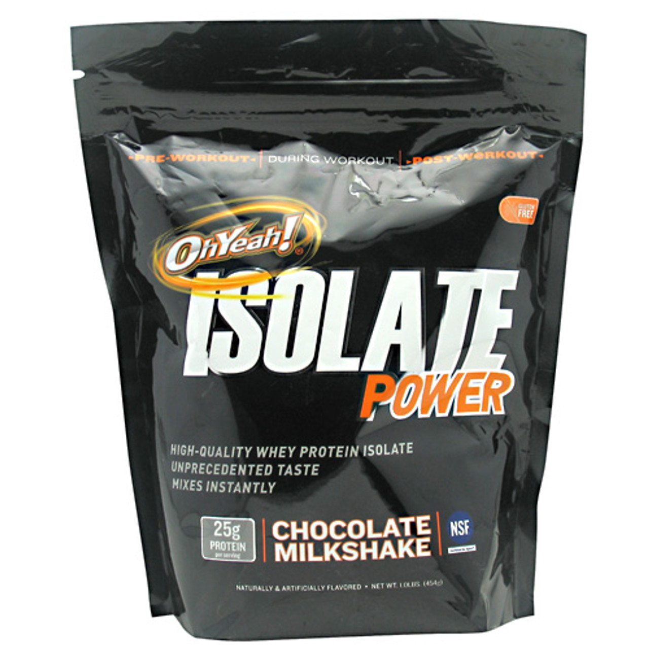 Oh Yeah! Isolate Power by ISS Research 1lb