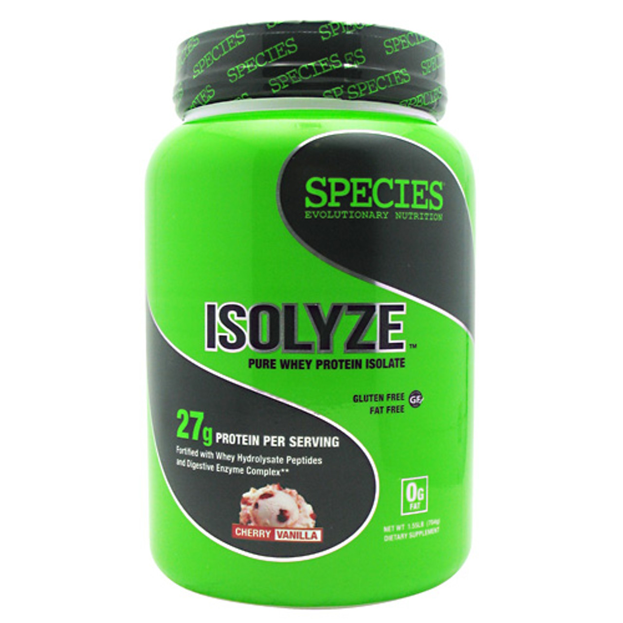 Isolyze 1.6lb Species Nutrition (Whey Isolate)