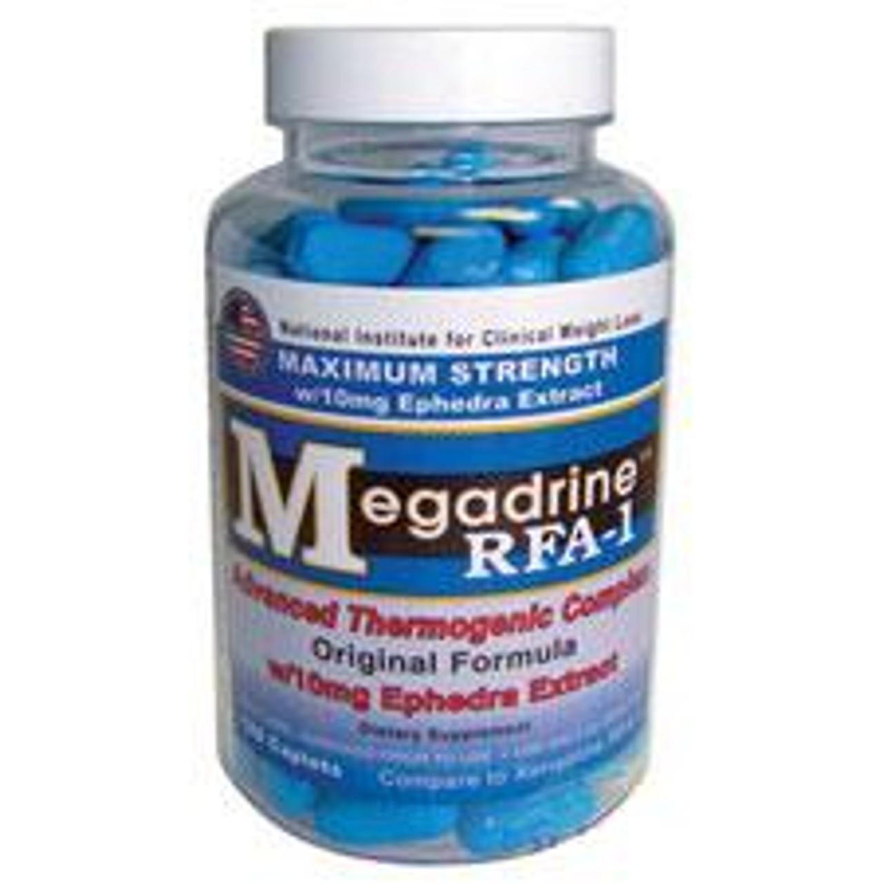 Megadrine RFA-1(Compare to Xenadrine RFA-1) 120ct Fat Loss