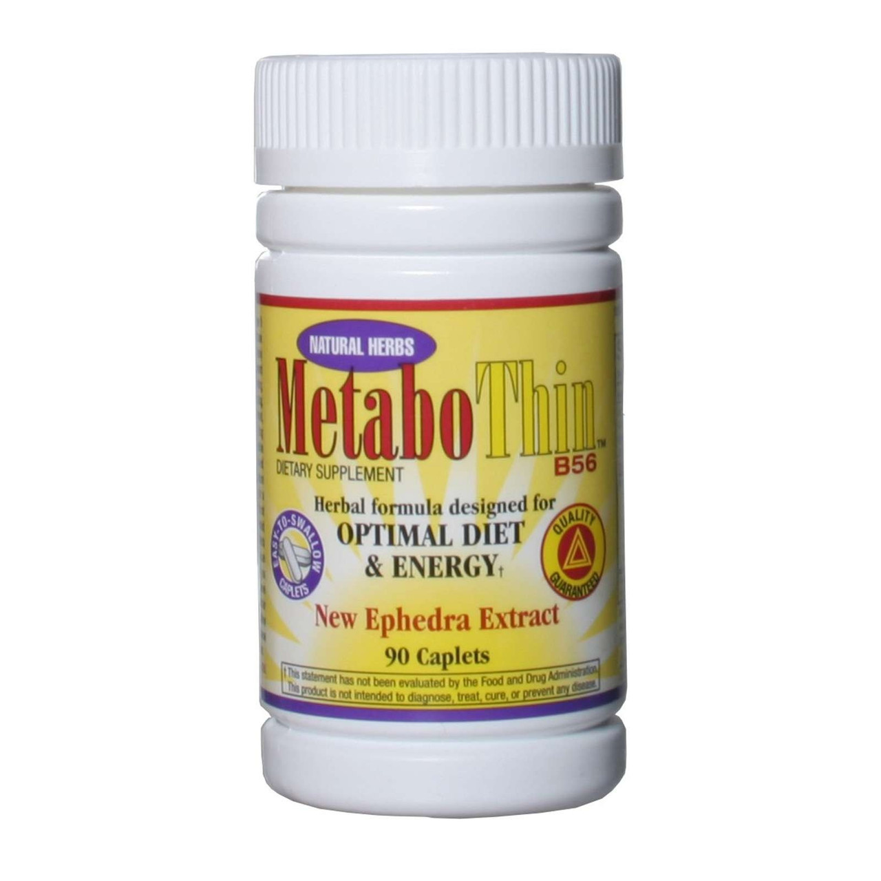 Metabothin with Ephedra 90ct Compare To Original Metabolife 356