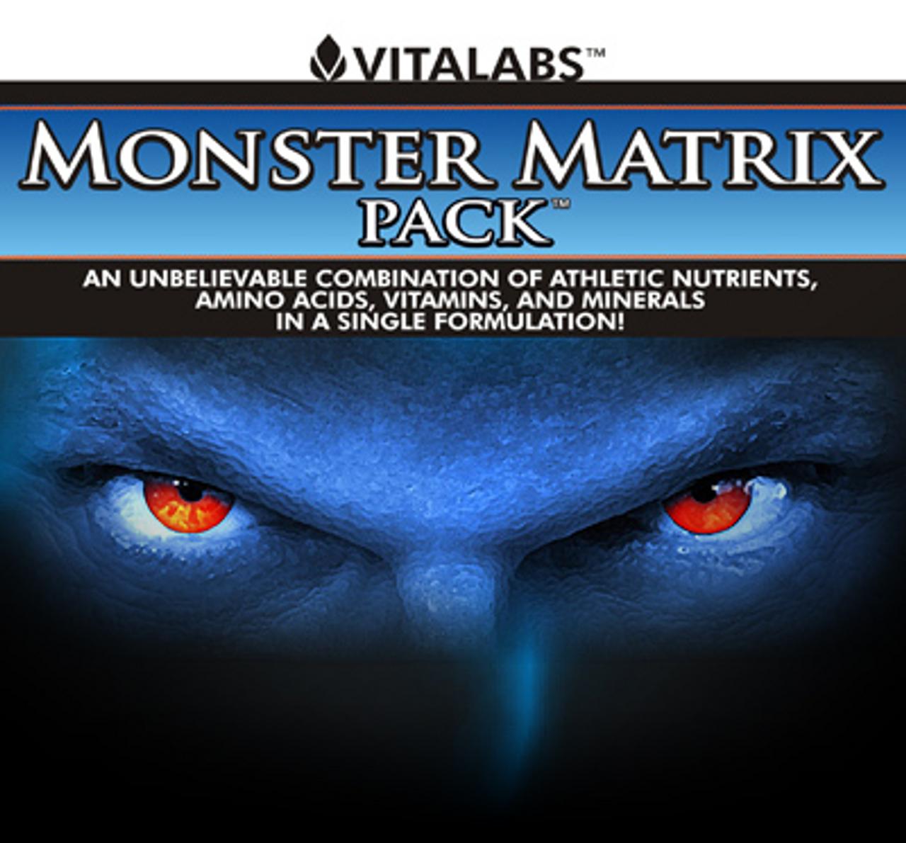 Monster Matrix Pack 30pk Vitalabs