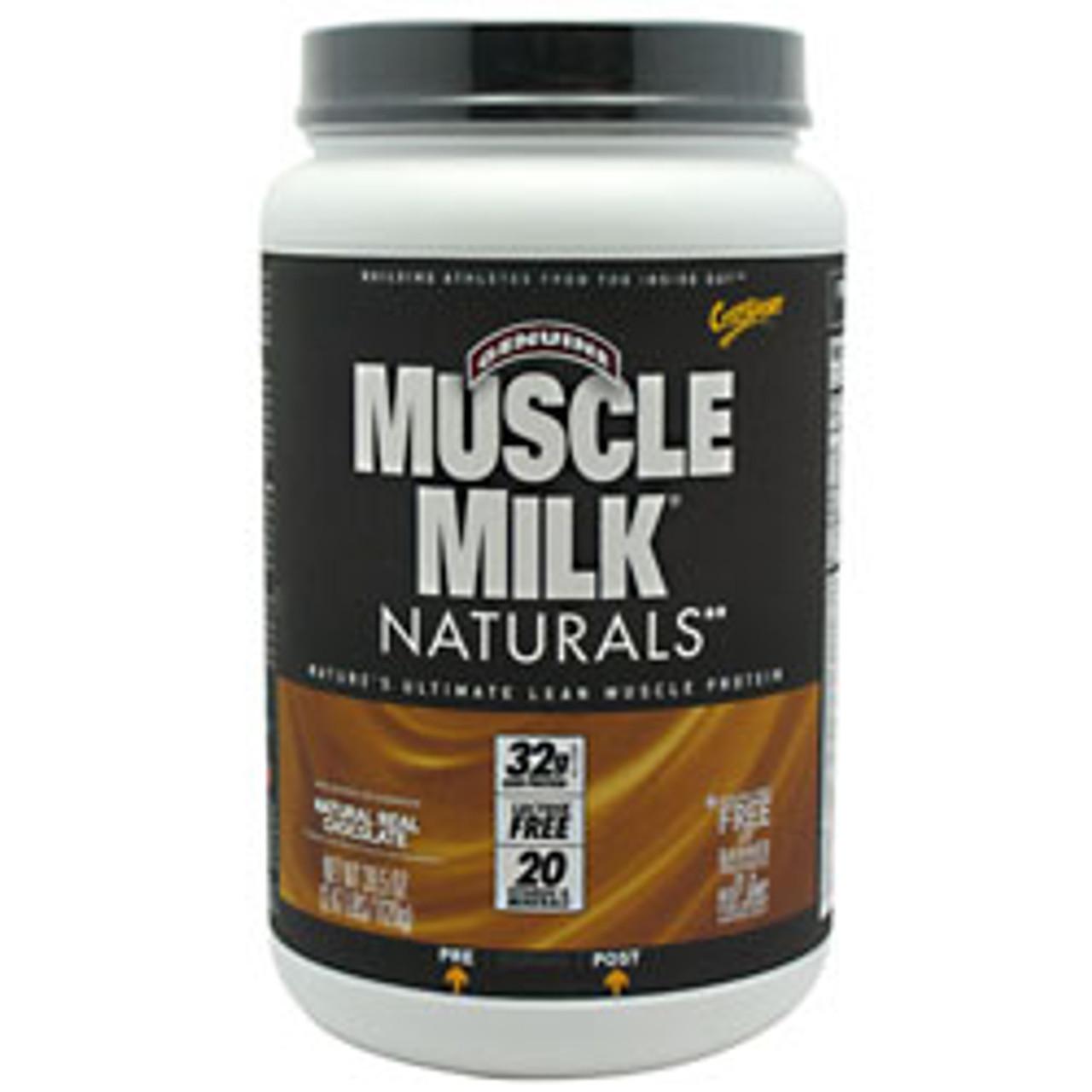 Muscle Milk Natural 2.47lb CytoSport