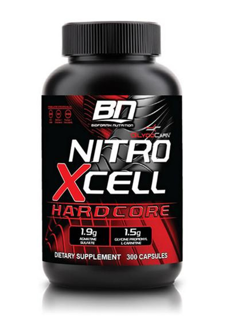 NitroXcell Hardcore by Bioformx Nutrition 300ct