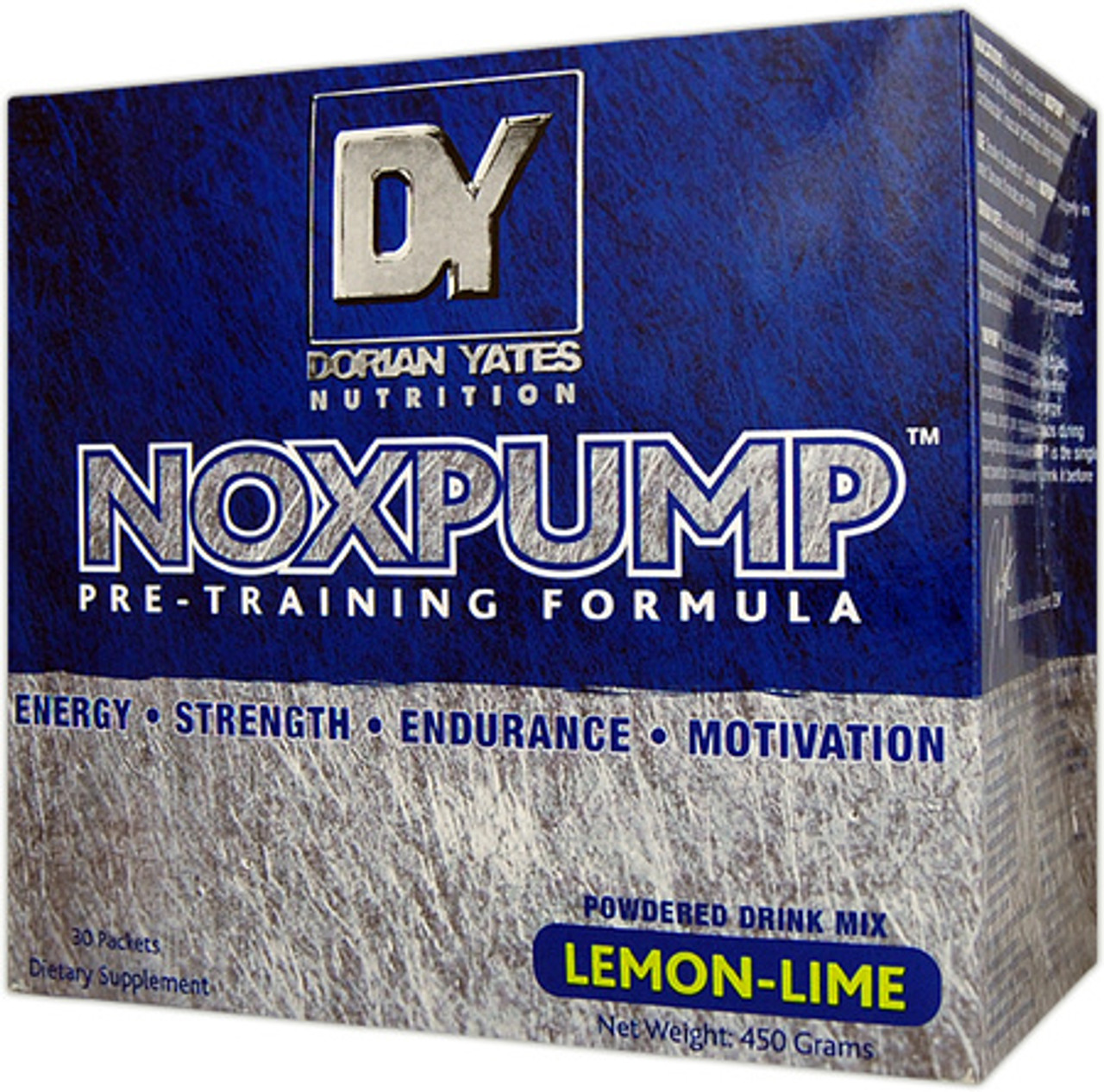 Noxpump 30pk Dorian Yates Nutrition I Supplements