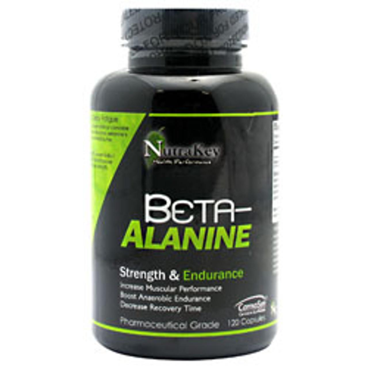 Beta Alanine 120ct Nutrakey
