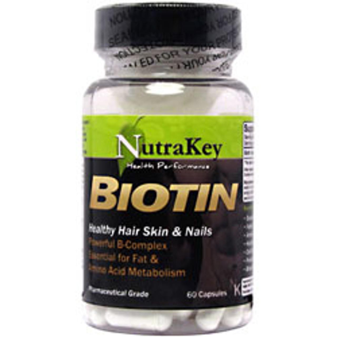 Biotin 60ct Nutrakey