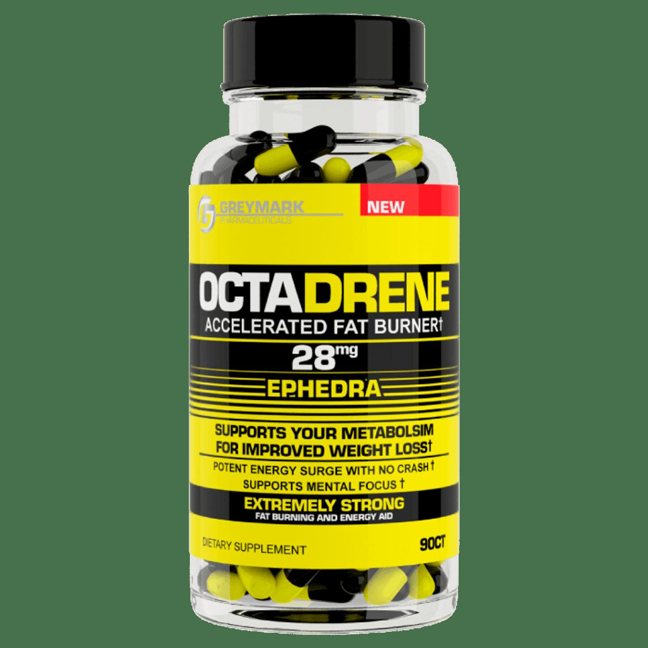 Octadrene Ephedra 90ct Greymark Pharmaceuticals NOW TAKING BACK ORDERS!