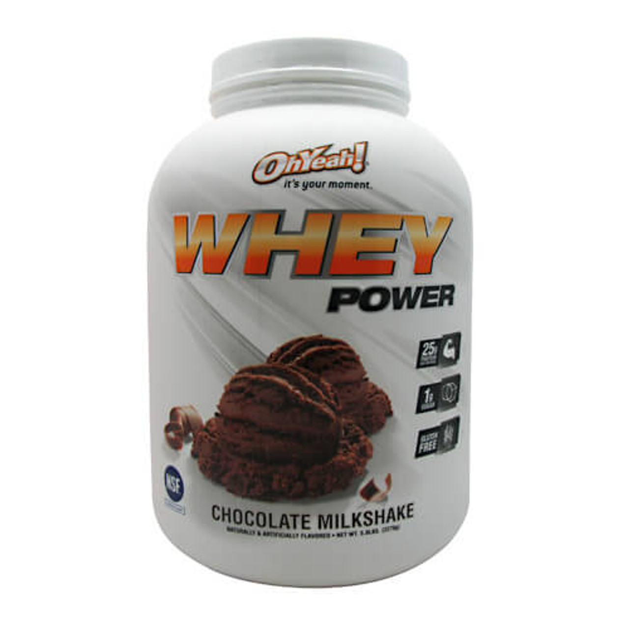 Oh Yeah Whey Power 5lb ISS Research