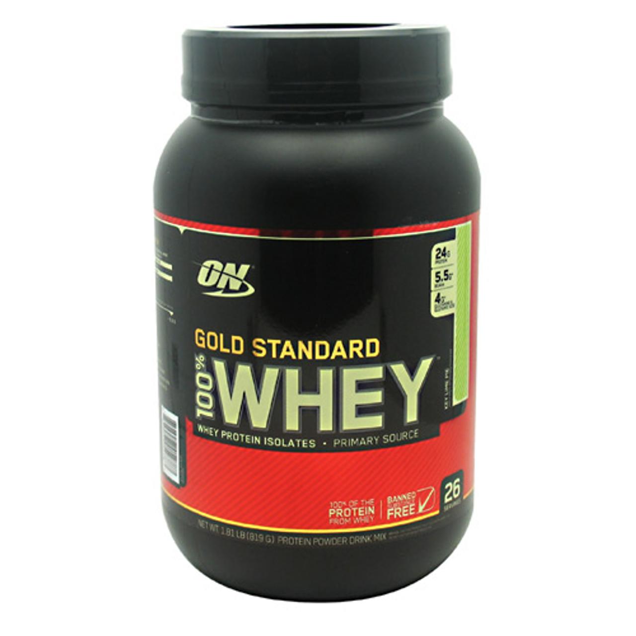 100% Gold Standard Whey 2lb Optimum