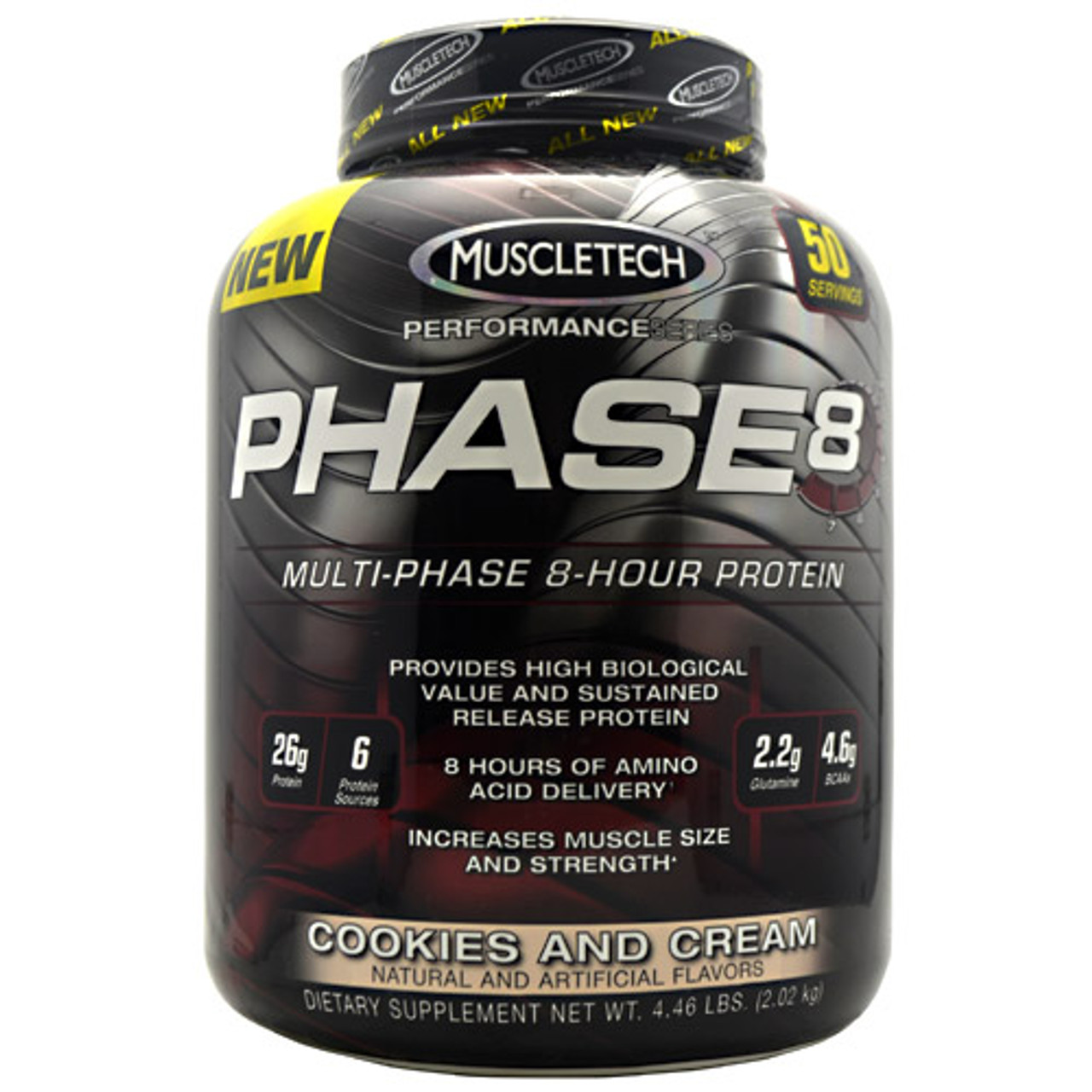 Phase8 Multi Phase by Muscletech 4lb