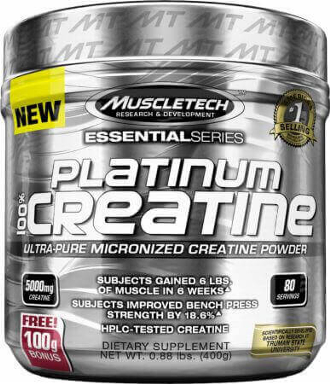 Platinum Creatine 80sv MuscleTech