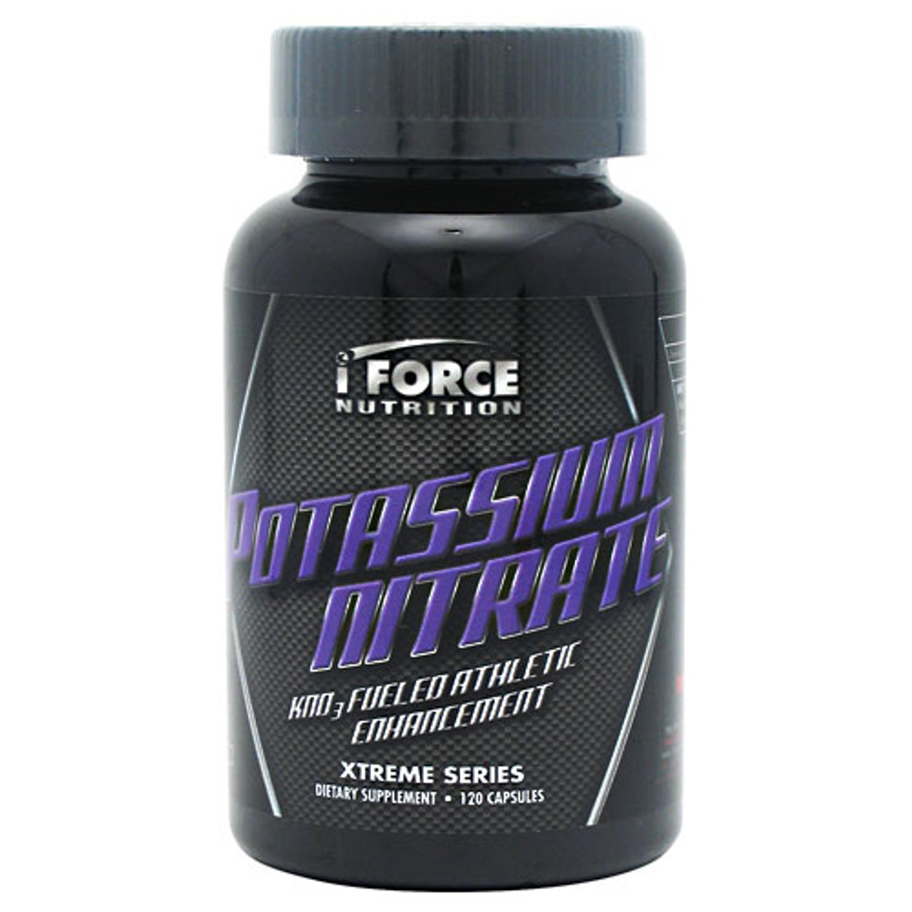 Potassium Nitrate by iForce Nutrition 120ct