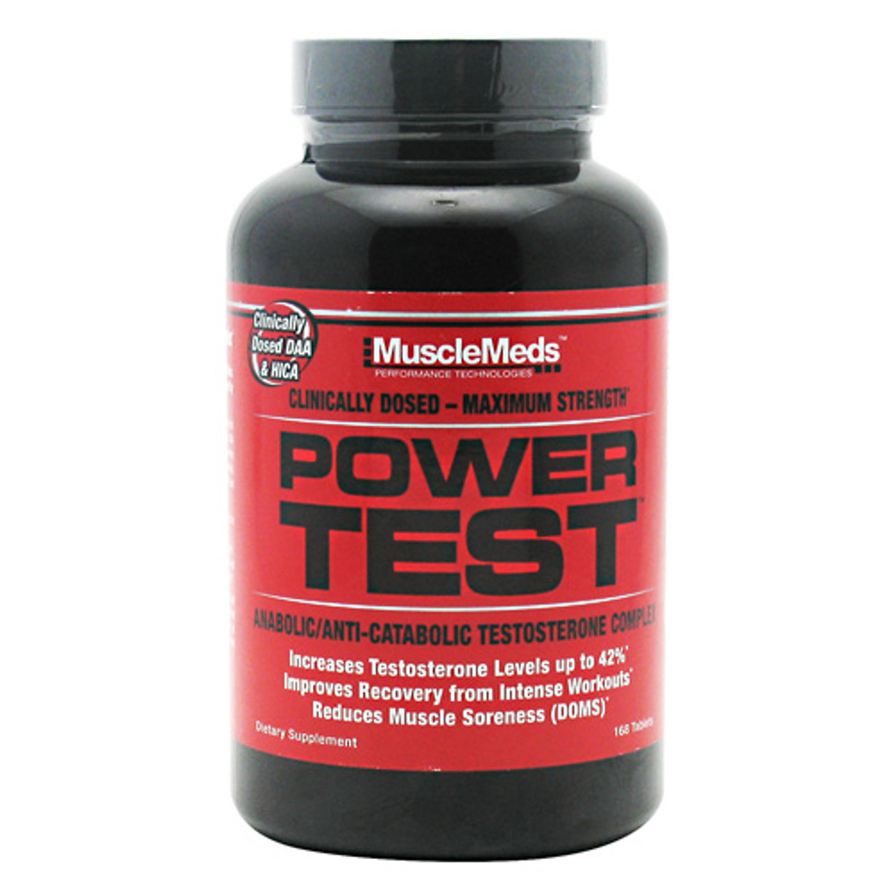 Power Test 168ct Muscle Meds