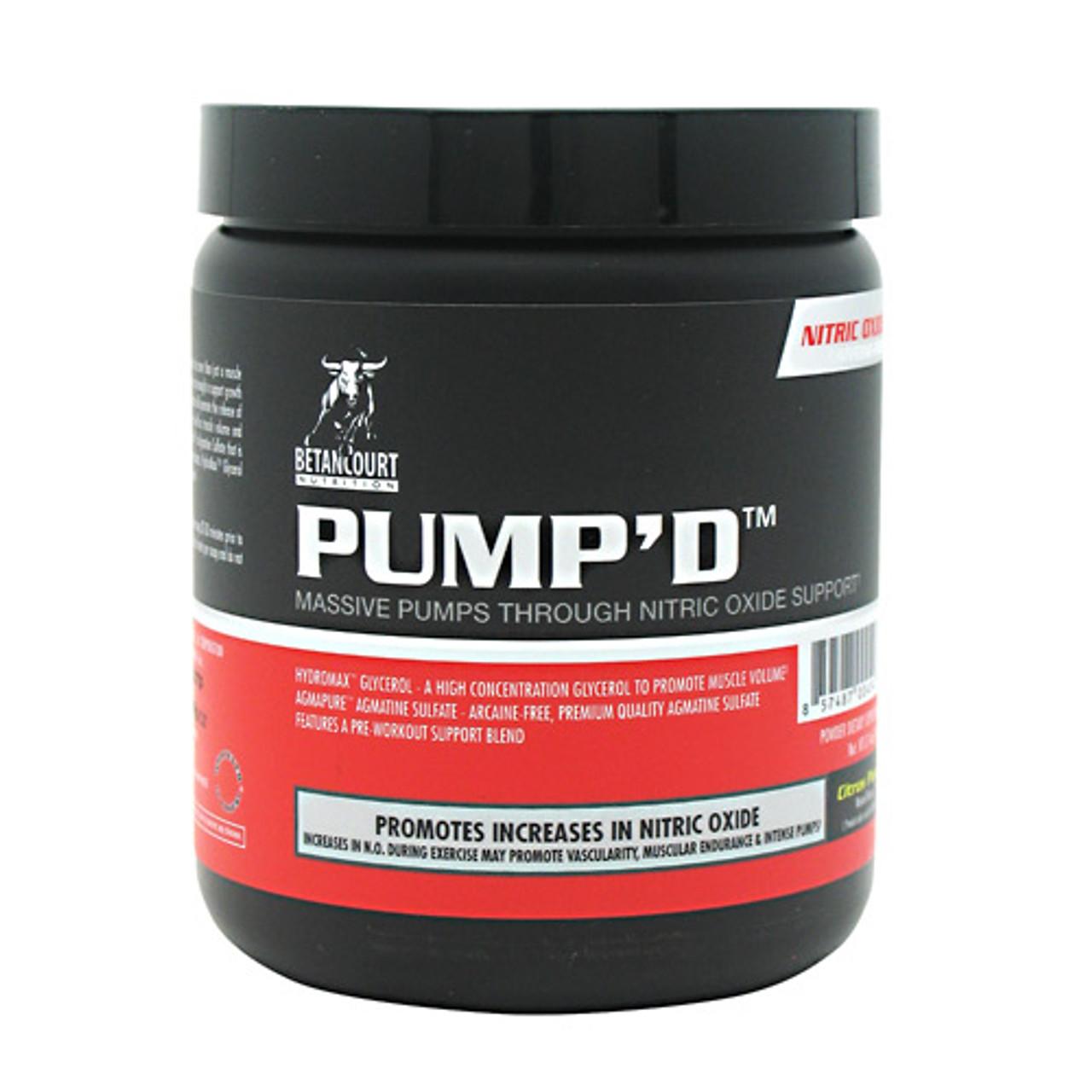 Pump'd 30sv Betancourt Nutrition