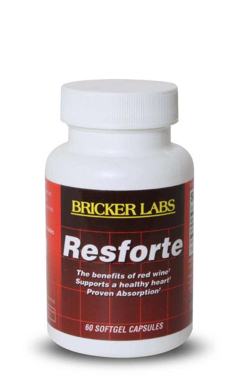 Resforte 50mg by Bricker Labs 60ct