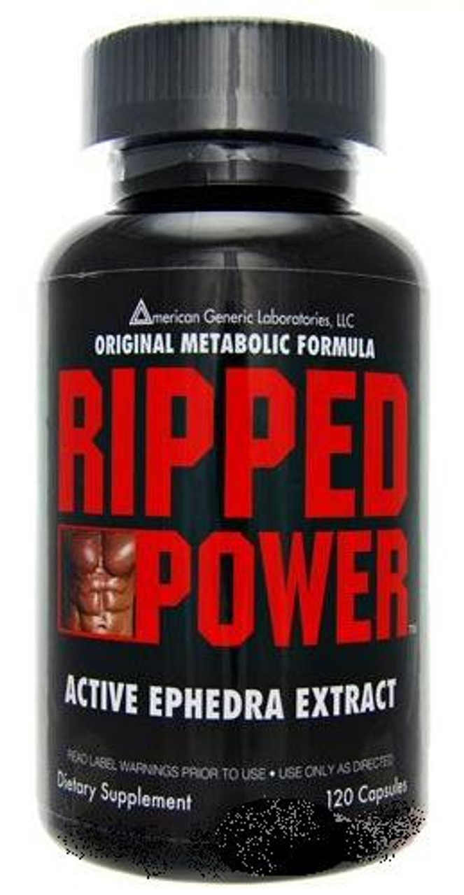 Ripped Power 120ct Ephedra Diet Supplement