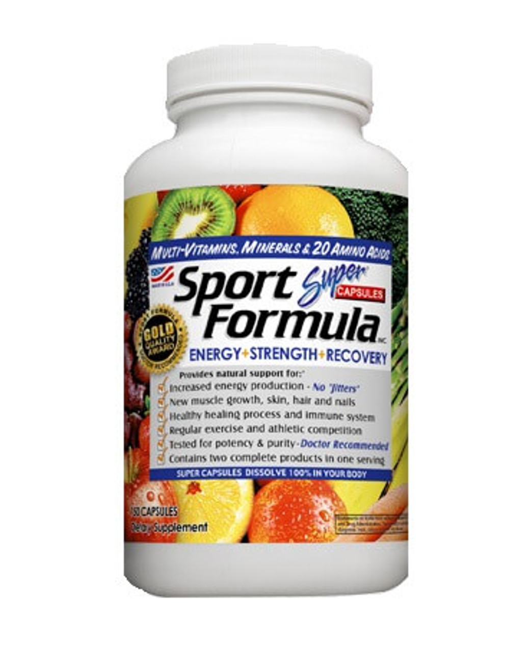 Sport Formula Vitamin Capsules 150ct