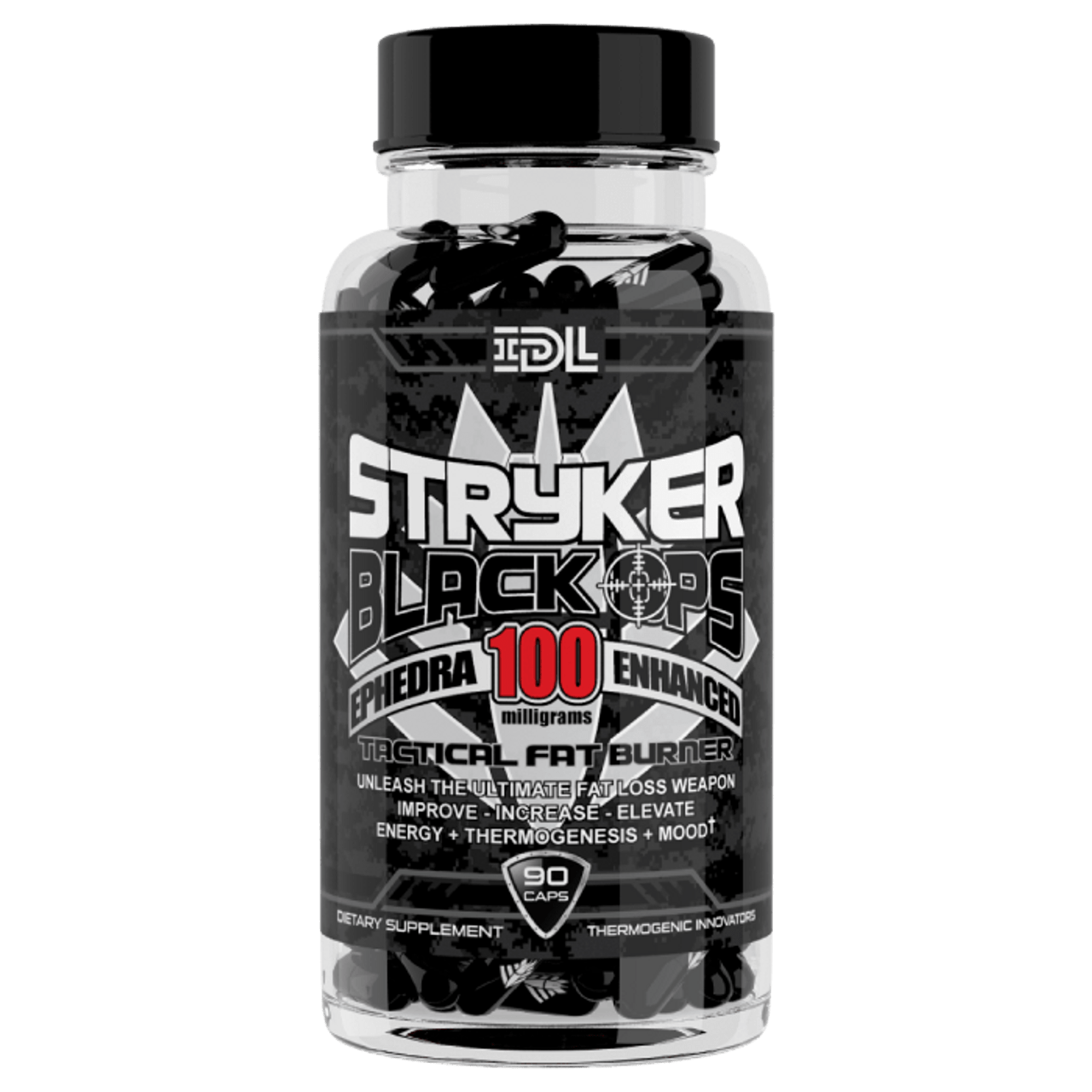 Stryker Black-Ops 90ct Tactical Ephedra Fat Burner