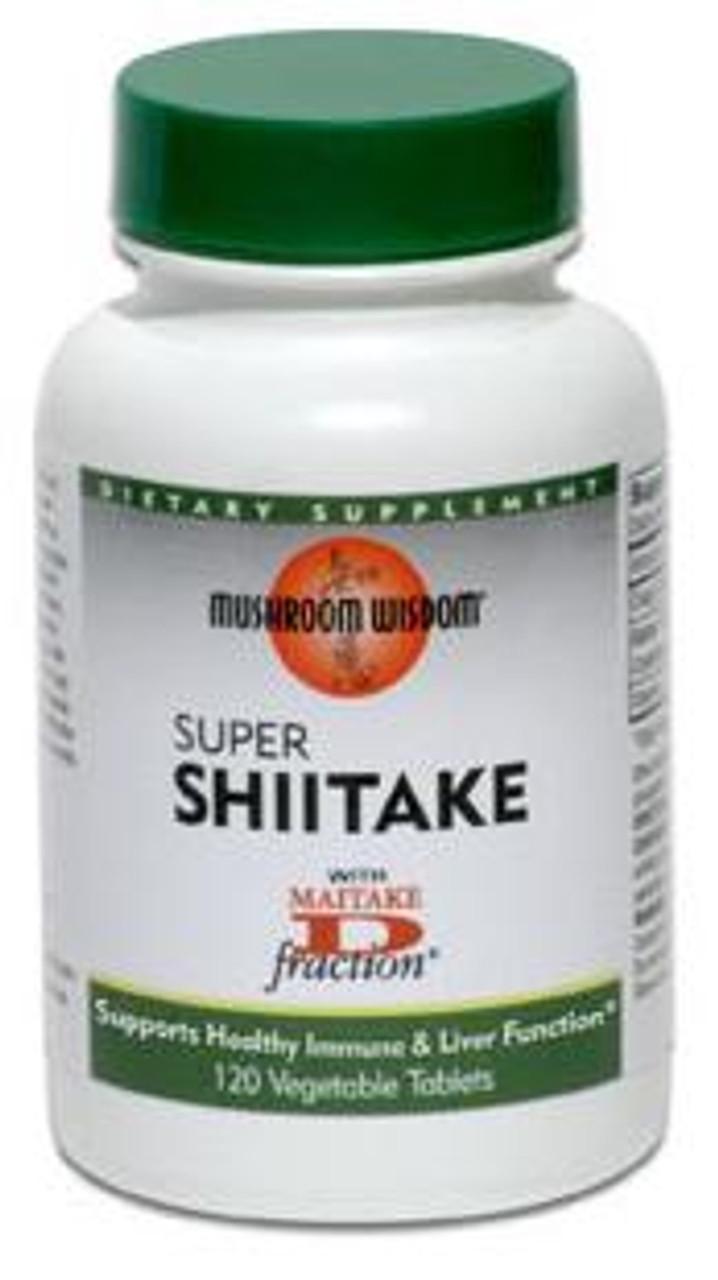 Super Shiitake 120ct Mushroom Wisdom