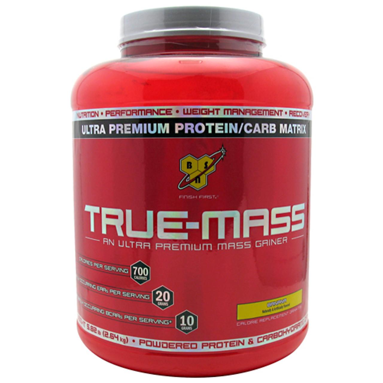 True Mass 5.75lb BSN