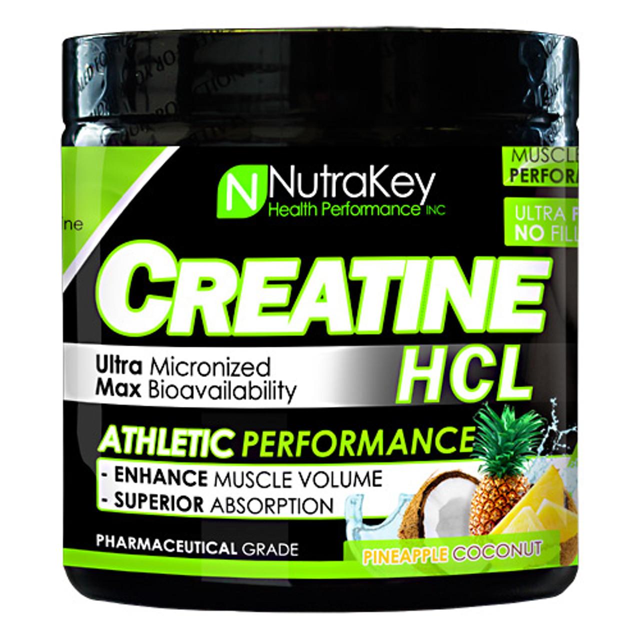 Clearance Creatine HCl 125sv Nutrakey