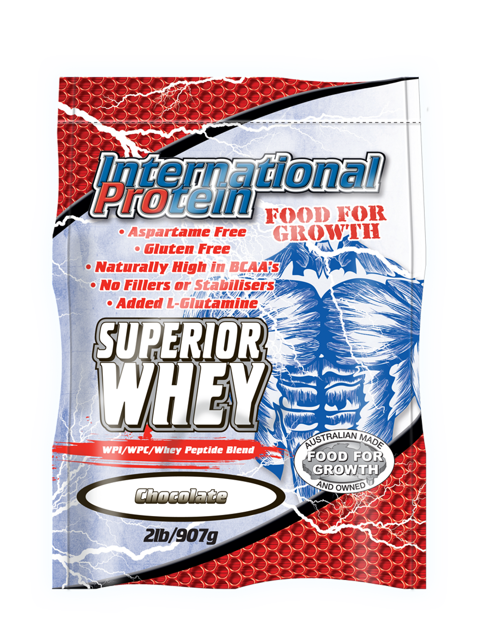 Clearance Superior Whey  2lb International Protein