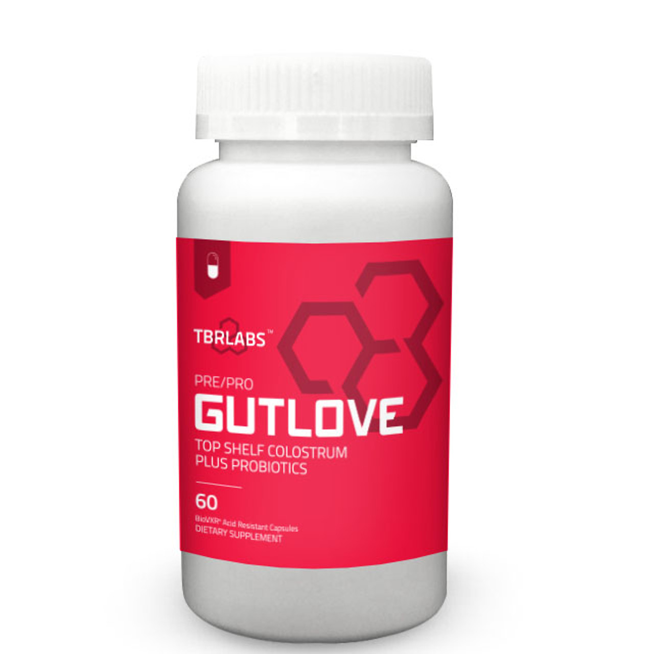 Gutlove Colostrum  + Probiotic  60ct Total Body Research Labs