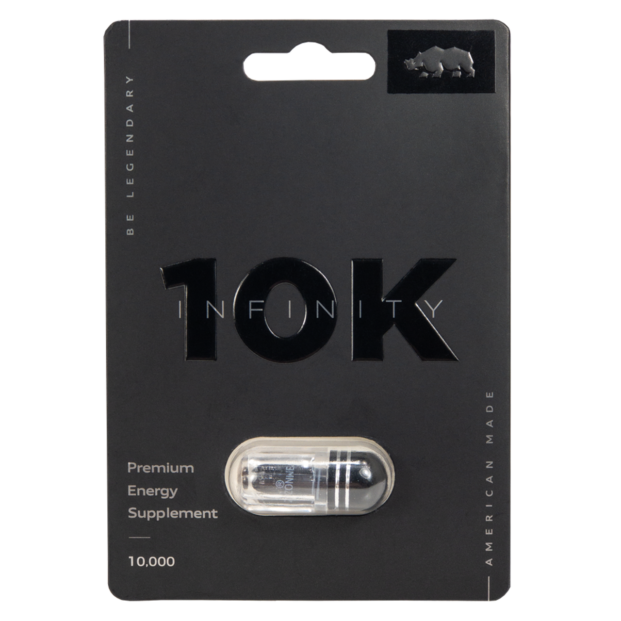 Rhino Infinity 10K Sex Enhancer 1ct