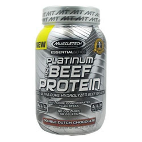 100% Platinum Beef Protein 2lb Muscletech
