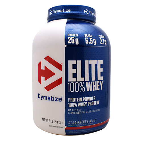 100% Whey Protein by Dymatize 5lb